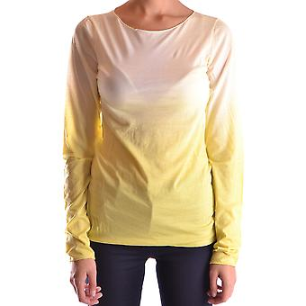 Bp Studio Ezbc247006 Women's Yellow Cotton Sweater