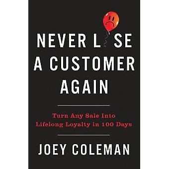 Never Lose A Customer Again by JOEY COLEMAN - 9780735220034 Book