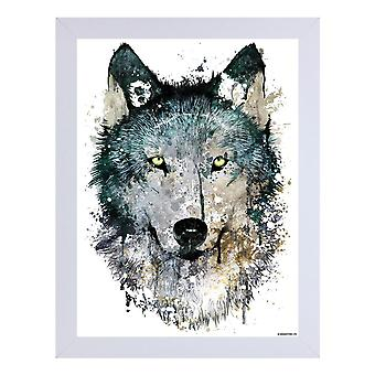 Unorthodox Collective Alpha White Wooden Framed Print