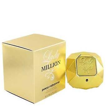 Lady million av Paco Rabanne Eau de Parfum spray 2,7 oz (kvinner) V728-467211