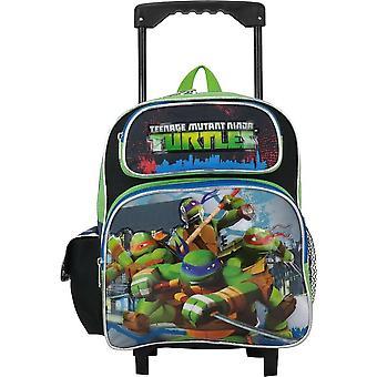 Rolling Backpack Teenage Mutant Ninja Turtles 12&; Zielony TMNT 658755