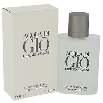Acqua di gio after shave lotion by giorgio armani 416543 100 ml