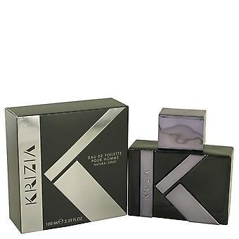 Krizia pour homme eau de toilette spray by krizia 537222 100 ml