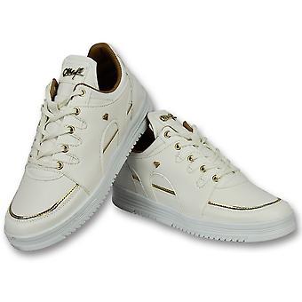 High Sneakers Online - Sneaker Luxury White - White