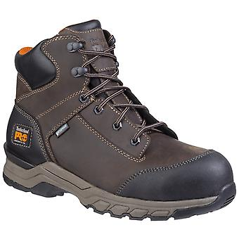 Timberland Pro Mens Hypercharge Lace Up Safety Boot Brown