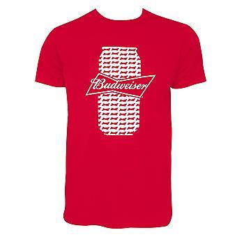 Budweiser Beer Can Tee Shirt