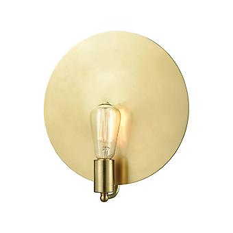 Sunscreen 1-light wall sconce in new aged brass