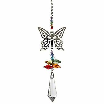 Butterfly Crystal Fantasy Rainbow Maker 22.5 cm