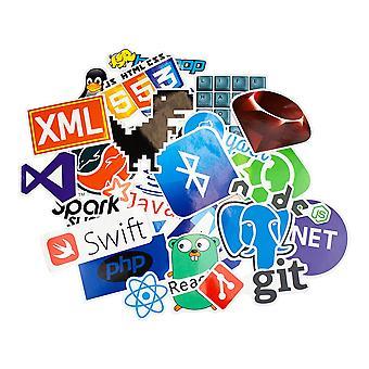 Storpack klistermærker og klistermærker - Coder