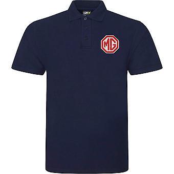MG motor bilkjøring-logo-Polo skjorte
