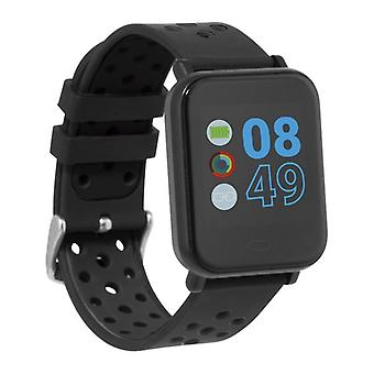 SmartWatch Cube HR2 1,3-quot; TFT Bluetooth svart