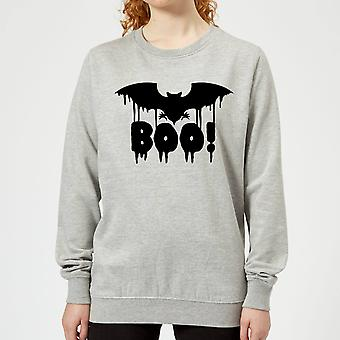 Boo Bat Women's Sweatshirt - Grey