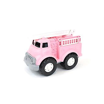 Green Toys Fire Truck - Pink