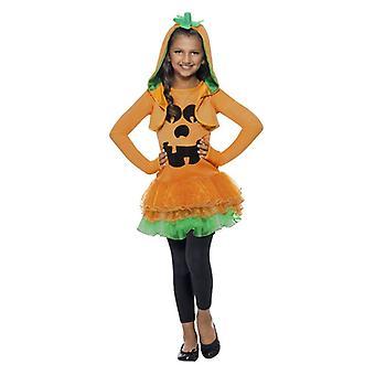 Dievčatá Halloween tekvica Tutu maškarný kostým