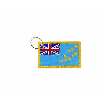 Cle Cles Key Brode Patch Ecusson Badge Tuvalu
