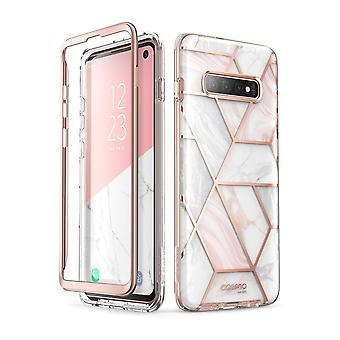 Galaxy S10 Cosmo Slim Designer Case (Marble)