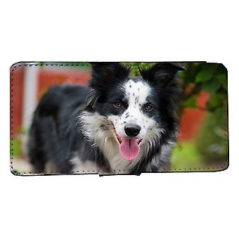 iPhone 6/6s wallet case Border Collie dog case Shell