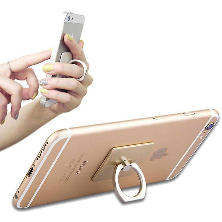 Universal Samsung Ring Halter für alle Handys und mehr, silber