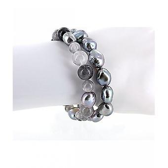Luna-Pearls - Bracelet - Pearl Bracelet Freshwater Pearl 10.5-11 mm 2040566