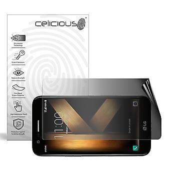 Celicious Privacy 2-Way Landscape Anti-Spy Filter Screen Protector Film Compatible with LG Harmony