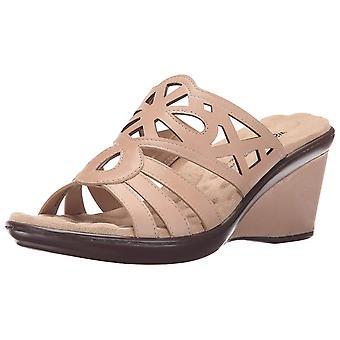 Walking Cradles Womens Logan Open Toe Casual Slide Sandals