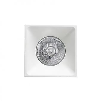 Neón weiße versenkt Lampe 1xgu10 Square