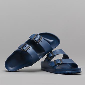 Birkenstock Arizona 129433 (nar) Ladies Eva Two Strap Sandals Navy