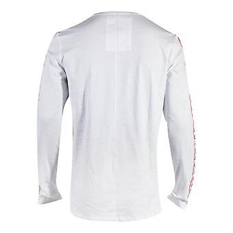 SONY Playstation Taping Long Sleeve Shirt Male Small White (TS364422SNY-S)