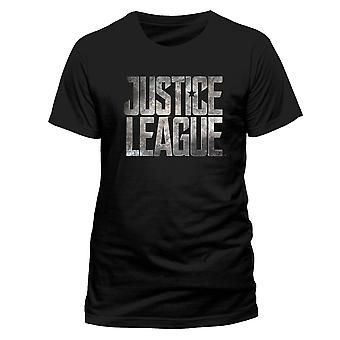 Justice League Unisex adults logo ontwerp T-shirt