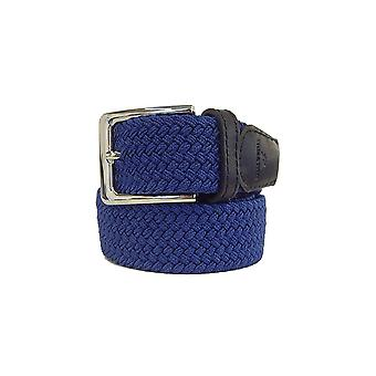 TYLER & TYLER Plain Woven Fabric Belts
