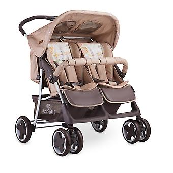 Lorelli Twin Stroller TWIN Changing Bag One-handed Folding System Foot Cover