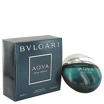 Aqua pour homme eau de toilette spray by bvlgari 512051 150 ml