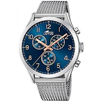 Lotus 18637-3 CHRONO watch - klocka Chrono armband Milanese ringa Blue Man
