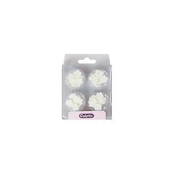 Culpitt White Mini Blossoms - Pojedynczy