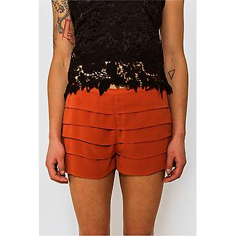 Renee Chiffon Pleat Shorts