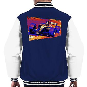 Motorsport Images Coulthard McLaren MP4 19 Final Corner Men's Varsity Jacket