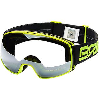 Briko Ski Mask Nyira Matte Fluo Yellow Grey Photochromic