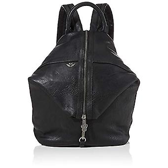Fritzi aus Preussen Marit Reloaded - Black Women's Backpack Bags (Noir) 13x26x31 cm (W x H L)