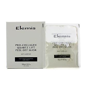 Elemis Pro kollagen kvarts Lift Peel Off maske (Salon produkt) 10x15g/0,5 oz