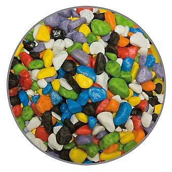 Ica Multicolor Gravel 7Mm 1Kg (Fish , Decoration , Gravel & sand)