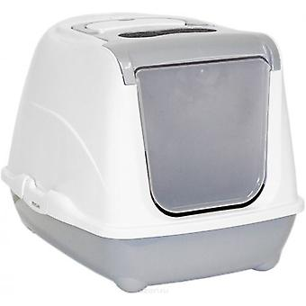 Moderna Gatera Flip Grey Cat (Cats , Grooming & Wellbeing , Covered Litter Trays)