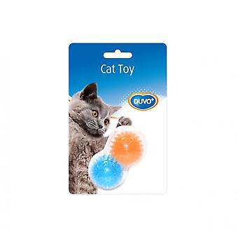 Duvo+ Tpr Cat Toy Ball Hedgehog 2 Uni. 8 X 4.5 X 4.5 Cm (Cats , Toys , Balls)