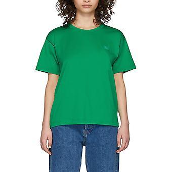 Acne Studios 25e173ab4 Women's Green Cotton T-shirt