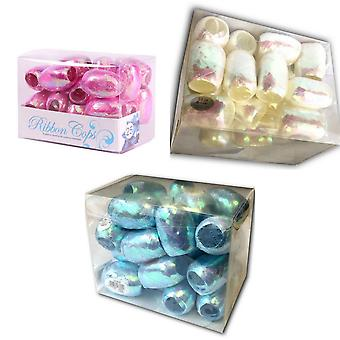 Apac Iridescent Ribbon Cops (Pack of 25)