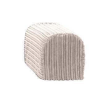 Trocando sofás de tamanho grande Mink Jumbo Cord Par de tampas de braço para poltrona de sofá