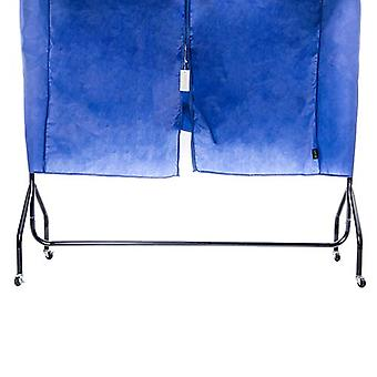 Loft 25 Durable Lightweight Blue Garment Clothing Rail Protective Cover