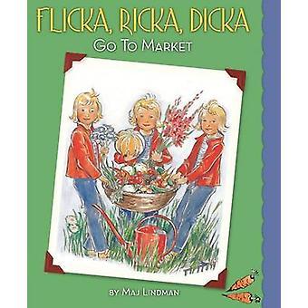 Flicka - Ricka - Dicka Go to Market by Maj Lindman - Maj Lindman - 97