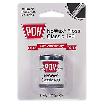 Poh nowax Classic 490 tand floss, 100 werven, 1 EA