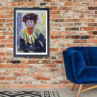Ernst Ludwig Kirchner - Doris with Ruff Collar Poster Print Giclee
