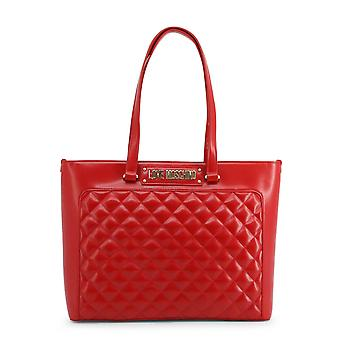 Love Moschino Original Women Fall/Winter Shopping Bag - Red Color 37082